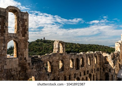 Athens, remains of ancient culture - Theatre of Dionysus