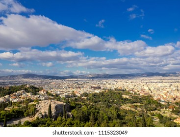 Athens view from Acropolis