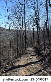 Athens-Big Fork hiking trail in Ouachita National Forest Arkansas