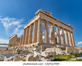 Athens,Greece .02/03/2019 The Parthenon.