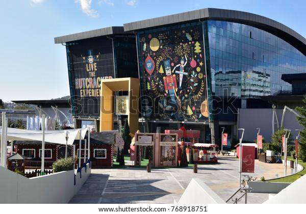 c051b2b6411 Athensgreecedecember 52017 Golden Hall Mall All Stock Photo (Edit ...
