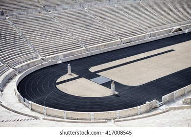 ATHENS,GREECE-MAY 4:The Panathenaic Stadium also known as the Kallimarmaro hosted the first modern Olympic Games in 1896,and it is one of the oldest in the world,MAY 4, 2016 in Athens,Greece