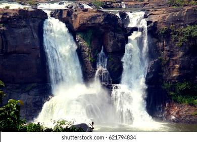 Athirapalli vazhyachal waterfalls