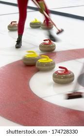 Athlete Curling