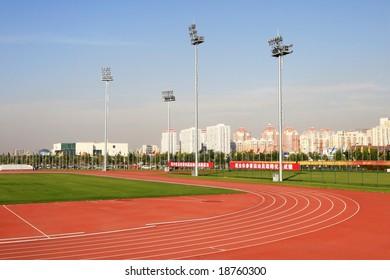 athletic field in beijing