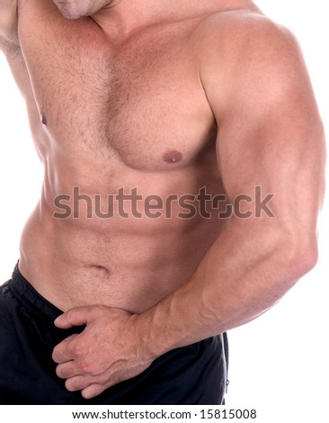 Athletic y Male Body Builder Champion Stock Photo (Edit Now ... on