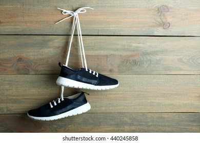 Shoes Hanging from Laces Images, Stock Photos \u0026 Vectors