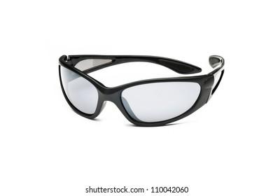 Athletic Sunglasses on white background