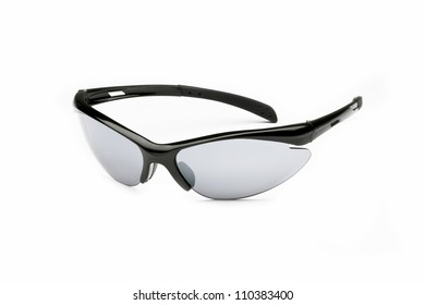 Athletic Sunglasses on white background.