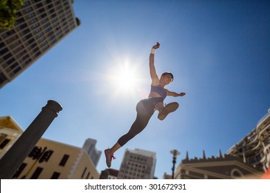 jumping off building images stock photos vectors shutterstock