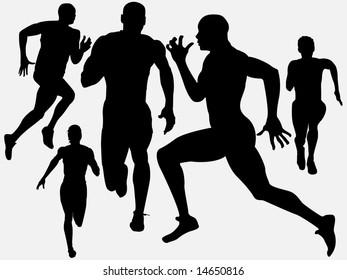 athleticism silhouette 2