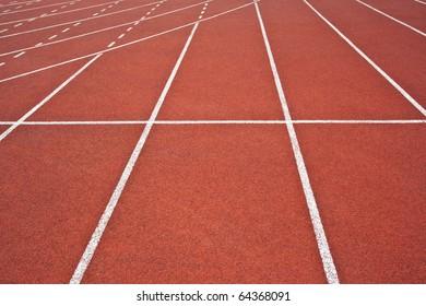 Athletics Track Lanes