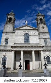 ATHLONE, IRELAND - AUGUST 6: St Peter and Paul Cathedral on 6 August 2017 at Athlone. St Peter and Paul is the main cathedral of Athlone.