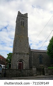 ATHLONE, IRELAND - AUGUST 6: St. Mary's Church on 6 August 2017 at Athlone. Athlone is religious town with lots of churches.