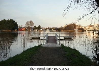 Athlone, Ireland. Shannon river/Lough Ree.