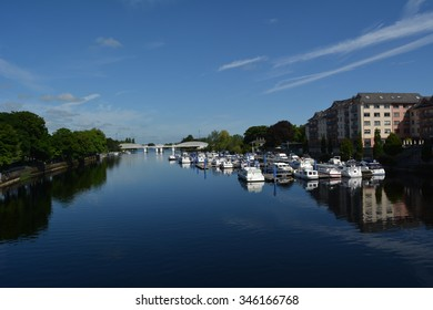 Athlone's  river side