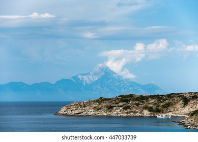 Athos Mountain view, Greece