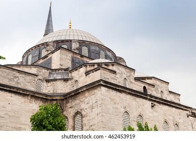 Atik Ali Camii. Old mosque exterior. Istanbul, Turkey