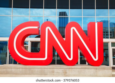 ATLANTA - AUGUST 29: CNN Center in Atlanta on August 29, 2015 in Atlanta. The CNN Center is the world headquarters of CNN.