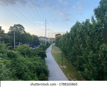 Atlanta Beltline Trail in the morning