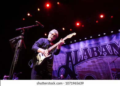 AtLANTA, GA, USA - APRIL 13TH, 2018: Alabama band performs live on stage at the Fox Theatre Atlanta.