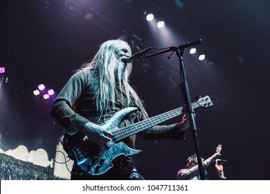 ATLANTA, GA, USA - MARCH 9TH, 2018: Symphonic metal band from Finland Nightwish performs at Tabernacle Atlanta.