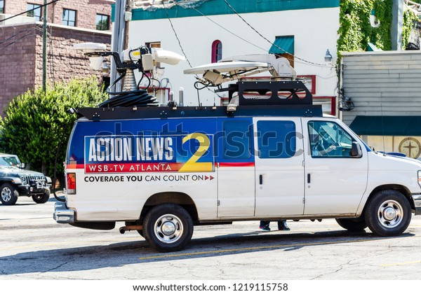 Atlanta Georgia May 3 2015 Wsbtv Stock Photo (Edit Now) 1219115758