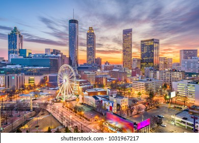 Atlanta, Georgia, USA downtown skyline. - Shutterstock ID 1031967217