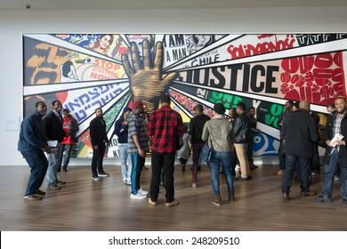 Atlanta, Georgia, USA - January 18th, 2015 : Center of Civil and Human rights, Georgia