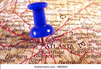 Atlanta, Georgia, the way we looked at it in 1949