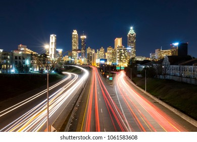 Atlanta from the Jackson Street Bridge