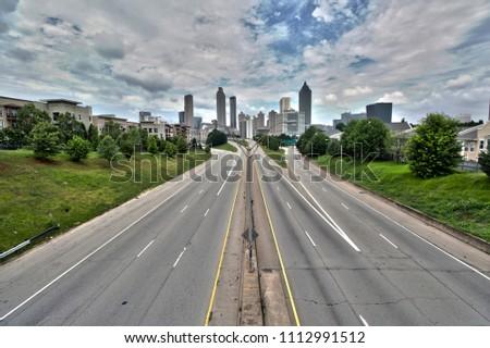 Atlanta from the Jackson