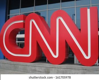 ATLANTA - JUNE 13: CNN Center in Atlanta, as seen on June 13, 2009. The CNN Center is the world headquarters of CNN.