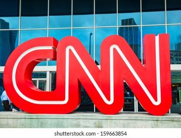 ATLANTA - MAY 04: CNN Center in Atlanta on May 04, 2013 in Atlanta. The CNN Center is the world headquarters of CNN.
