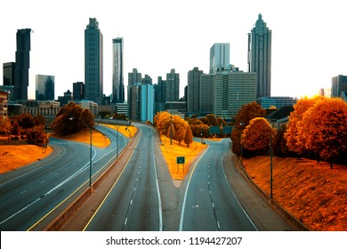Atlanta skyline, Georgia USA