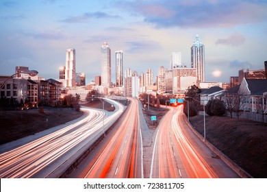 Atlanta skyline, Georgia, USA