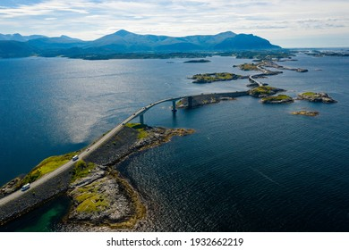 Atlanterhavsvegen, scenic coastal highway, west coast of Norway