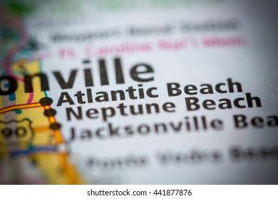 Atlantic Beach. Florida. USA