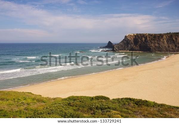 Atlantic beach Odeceixe