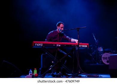 ATLANTIC CITY - FEB 26: Adam Merrin of the group, The 88, performs at the Borgata Casino February 26, 2010 in Atlantic City, NJ