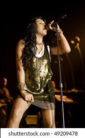 ATLANTIC CITY - MARCH 20: Melanie Fiona performs at the Trump Taj Mahal Casino March 20, 2010 in Atlantic City, NJ