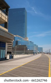 ATLANTIC CITY, NEW JERSEY - JUNE 11, 2017: Revel Casino Hotel, now named Ten. Closed. Editorial use only.