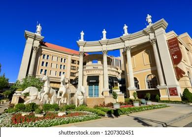 Atlantic City N.J/USA/ Oct. 4 , 2018: Caesars Hotel & Casino in Atlantic City N,J.