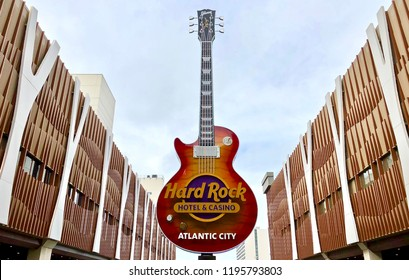 Atlantic City N.J/USA/OCT. 4 2018:   Hard Rock Casino in Atlantic City N.J celebrates its 100th day in operation.