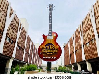 Atlantic City N.J/USA/OCT. 4 2018:   Hard Rock Casino in Atlantic City N.J celebrates its 100th day in operation.