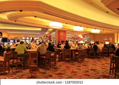 Atlantic City N.J/USA/Sept. 22 2018: The Borgata Hotel and Casino in Atlantic City N.J.