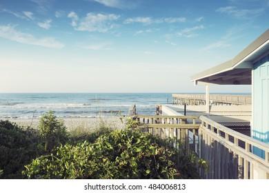 Atlantic Coast, Atlantic Beach, North Carolina, USA