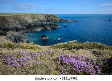Atlantic coast in Pembrokeshire Coast National Park, UK
