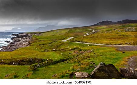 Atlantic Drive, Achill Island, Co Mayo, Ireland