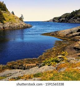 Atlantic Inlet East Coast Newfoundland